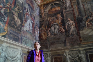 Vatican- Sala lui Constantin- Rafael