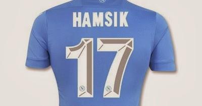 066b3cccc43da Nueva temporada Serie A de fútbol Camisetas  Venta camiseta Hamsik Napoli  2014