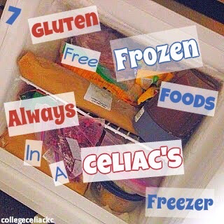7 Gluten Free Frozen Foods Always Found in a Celiac's Freezer