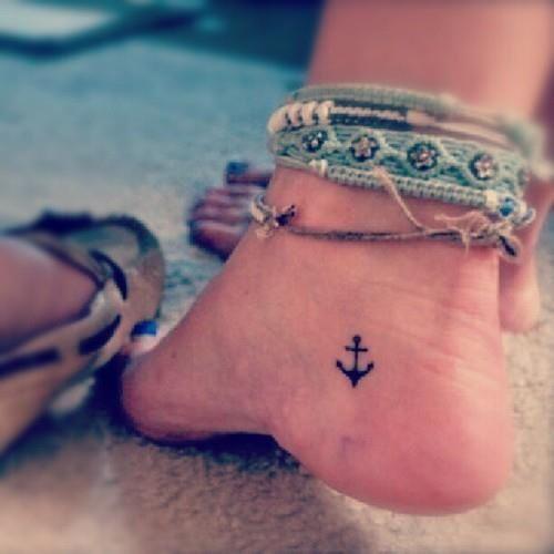 Pequeños Tatuajes De Anclas Para Chicas Belagoria La Web De Los
