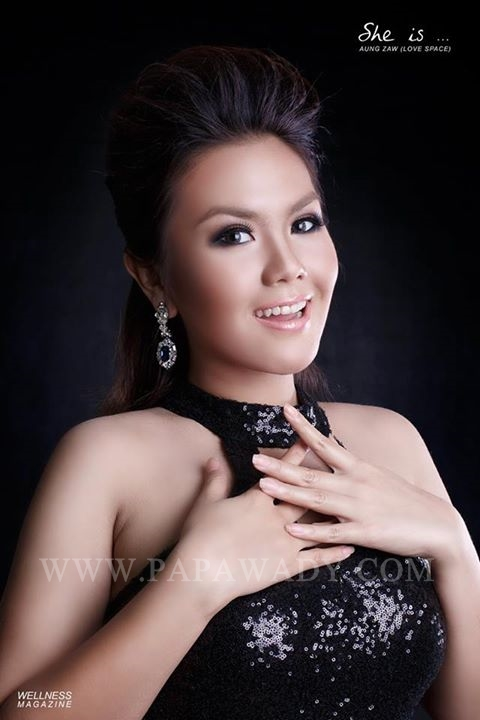 "Ni Ni Khin Zaw Photoshoot ""WELLNESS MAGAZINE COVER"""