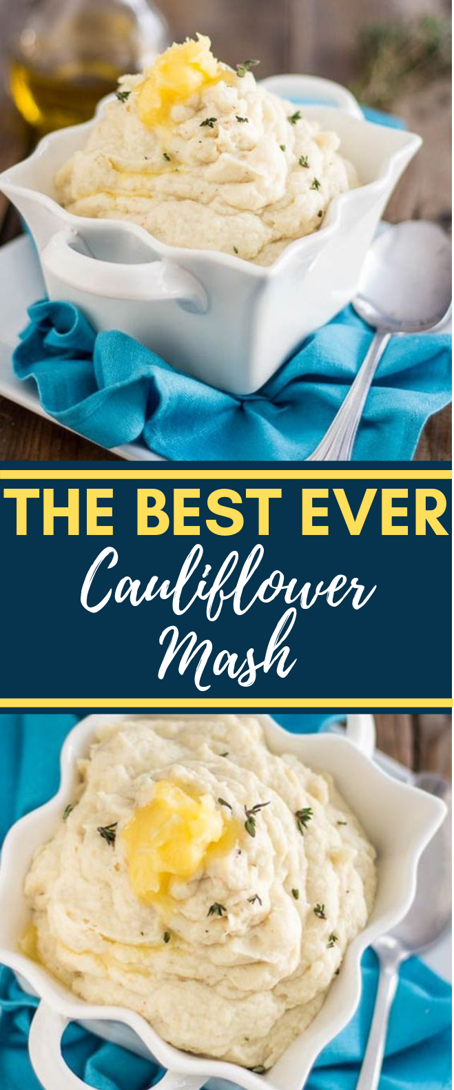 THE BEST CAULIFLOWER MASH EVER #HealthyFood #Keto