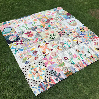 Green Tea and Sweet Beans quilt by Lucy Brennan, Charm About You