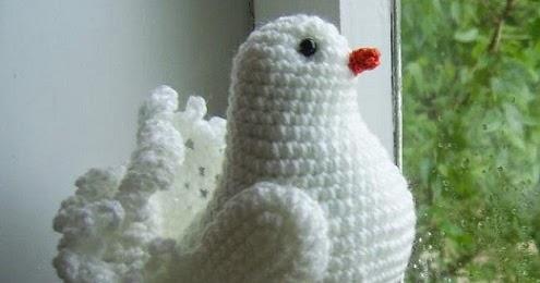 1000 схем амигуруми на русском вязаный крючком голубь