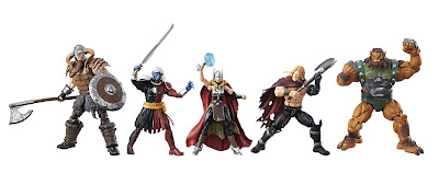 "San Diego Comic-Con 2017 Exclusive The Mighty Thor Marvel Legends 6"" Action Figure Box Set"