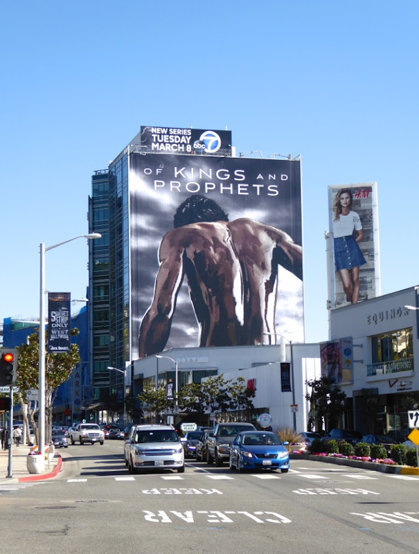 Giant Of Kings and Prophets series launch billboard