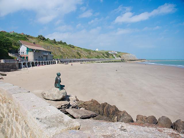 Folkeststone beach strand