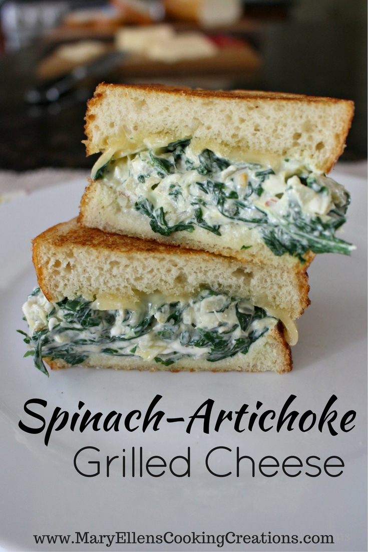 with creamy melted cheese and a hot and bubbly spinach artichoke ...