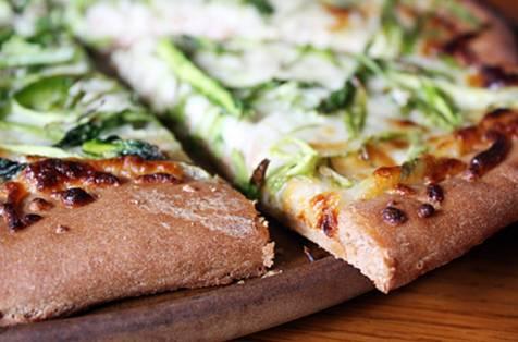 Pizza light fitness sin horno