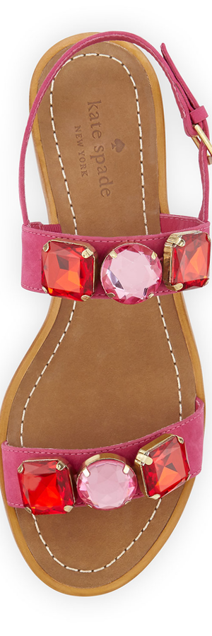 kate spade new york bacau jewel-embellished sandal