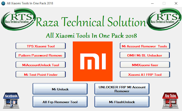 All Xiaomi Tools In One Pack 2018 By Raza Technical Solution