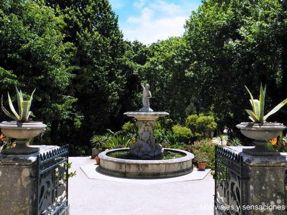 Fuente del titrón, Jardines del Palacio de Monserrate, Sintra, Portugal