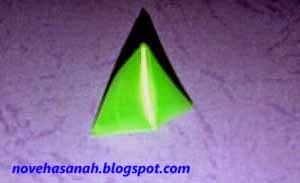 cara pembuatan berlian untuk anak-anak berbahan sedotan plastik