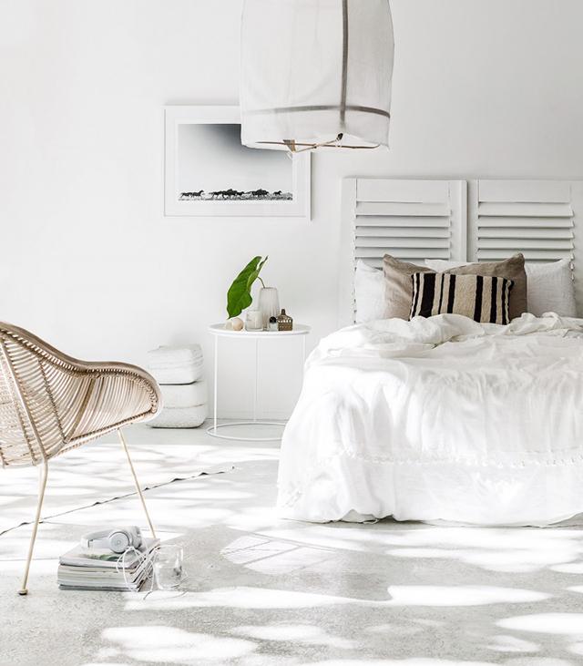 la petite fabrique de r ves tendance 2016 une chambre naturelle minimaliste. Black Bedroom Furniture Sets. Home Design Ideas