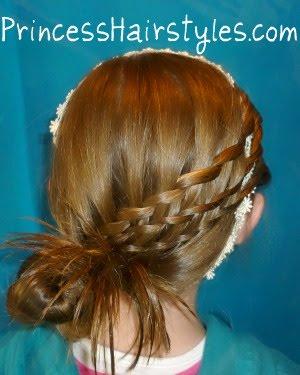 easter hairstyles basket weave
