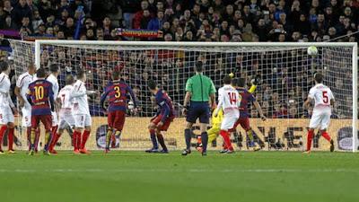Crónica FC Barcelona 2 Vs Sevilla FC 1
