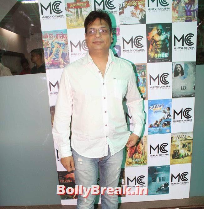 Irshad Kamil, Shradha  & Aditi at Mukesh Chhabra Casting Studio Launch