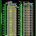 مشروع عمارة سكنية من 17 طابق اتوكاد Apartment building dwg