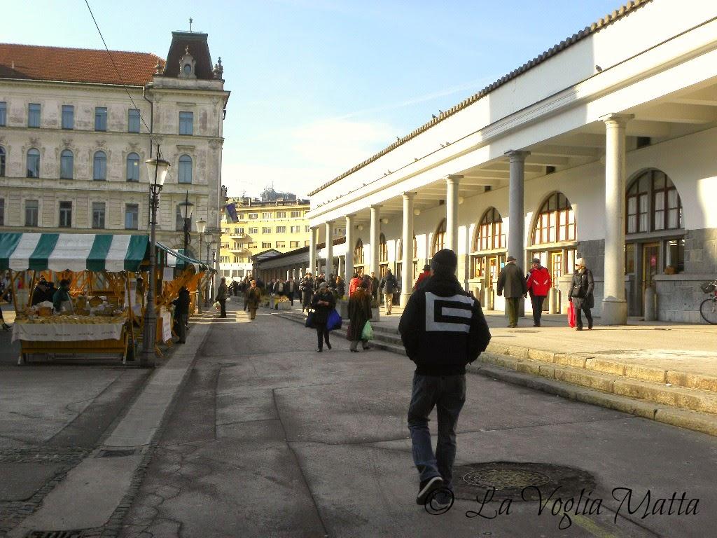 reportage Ljubljana mercato