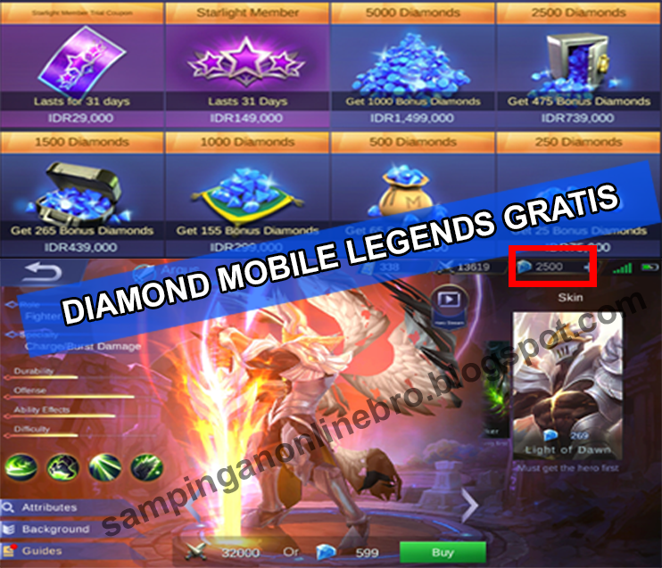 Cara Membeli Diamond Mobile Legends Di Tokopedia The Best Diamond 2018
