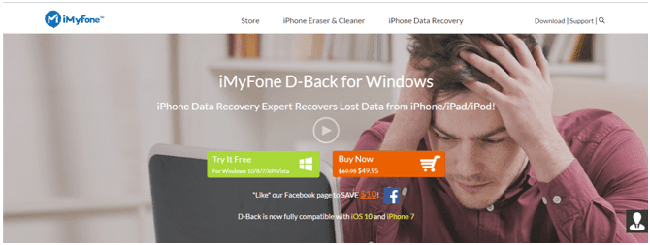iMyFone D-Back Review