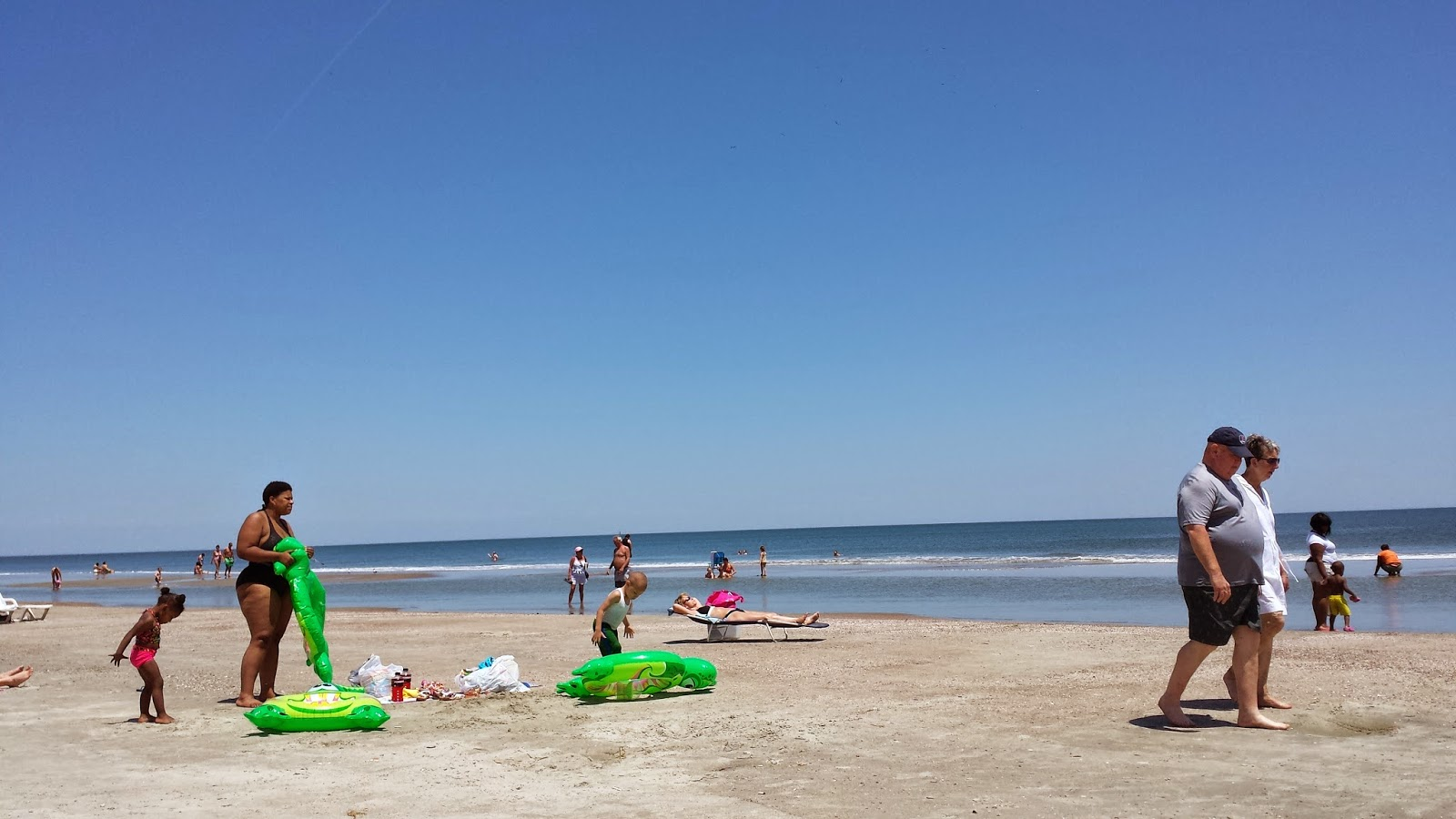 The Beach At Tybee Island