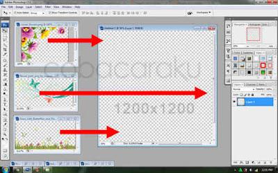 Membuat Bingkai Foto Untuk Facebook Dengan Photoshop
