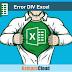 Cara menghilangkan error DIV pada excel