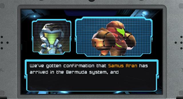 Samus Aran Bermuda system Metroid Prime: Federation Force chibi