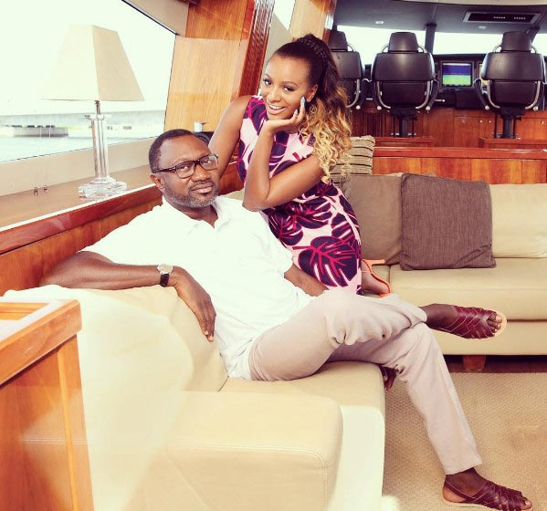 "DJ Cuppy calls her daddy Femi Otedola ""best friend"" as he clocks 54"