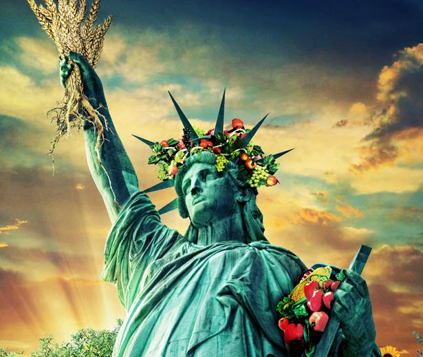 Veganreise New York Veganmisjonen Veggispreik Veganmannen