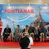 Merayakan penerbangan perdana Air Asia dari Pontianak ke Kuching