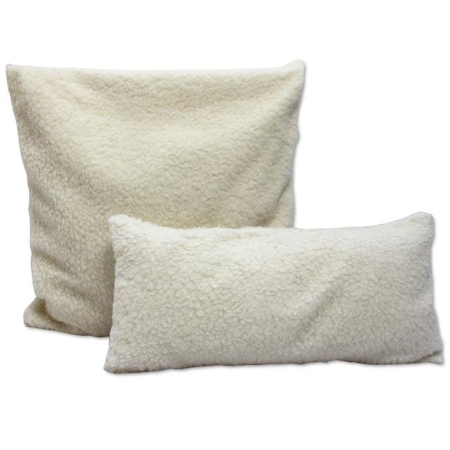 Schafwolle Kopfkissen