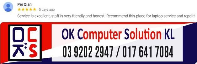 LOKASI OK COMPUTER SOLUTION KUALA LUMPUR | KEDAI REPAIR LAPTOP CHERAS 18