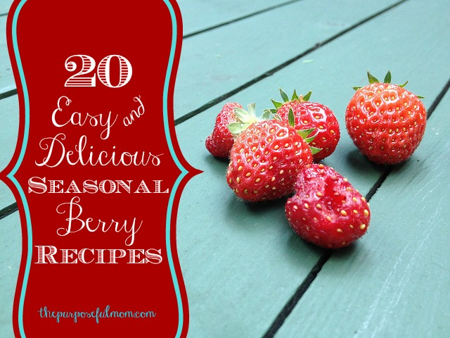 20 easy and delicious seasonal berry recipes