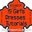 15 more girl's dresses free patterns - fall edition
