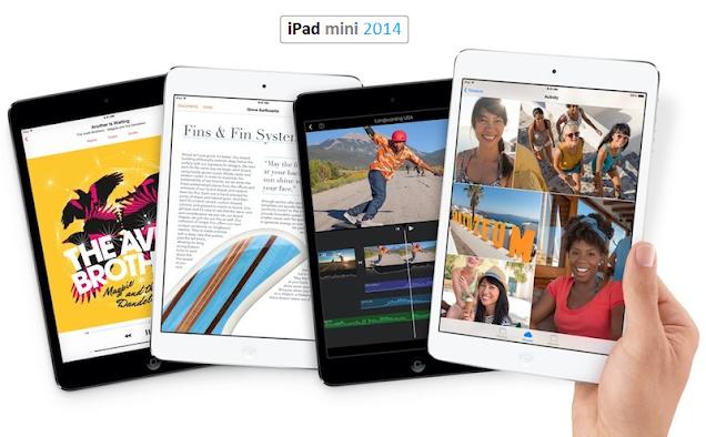 iPad mini 3 Release Date 2014