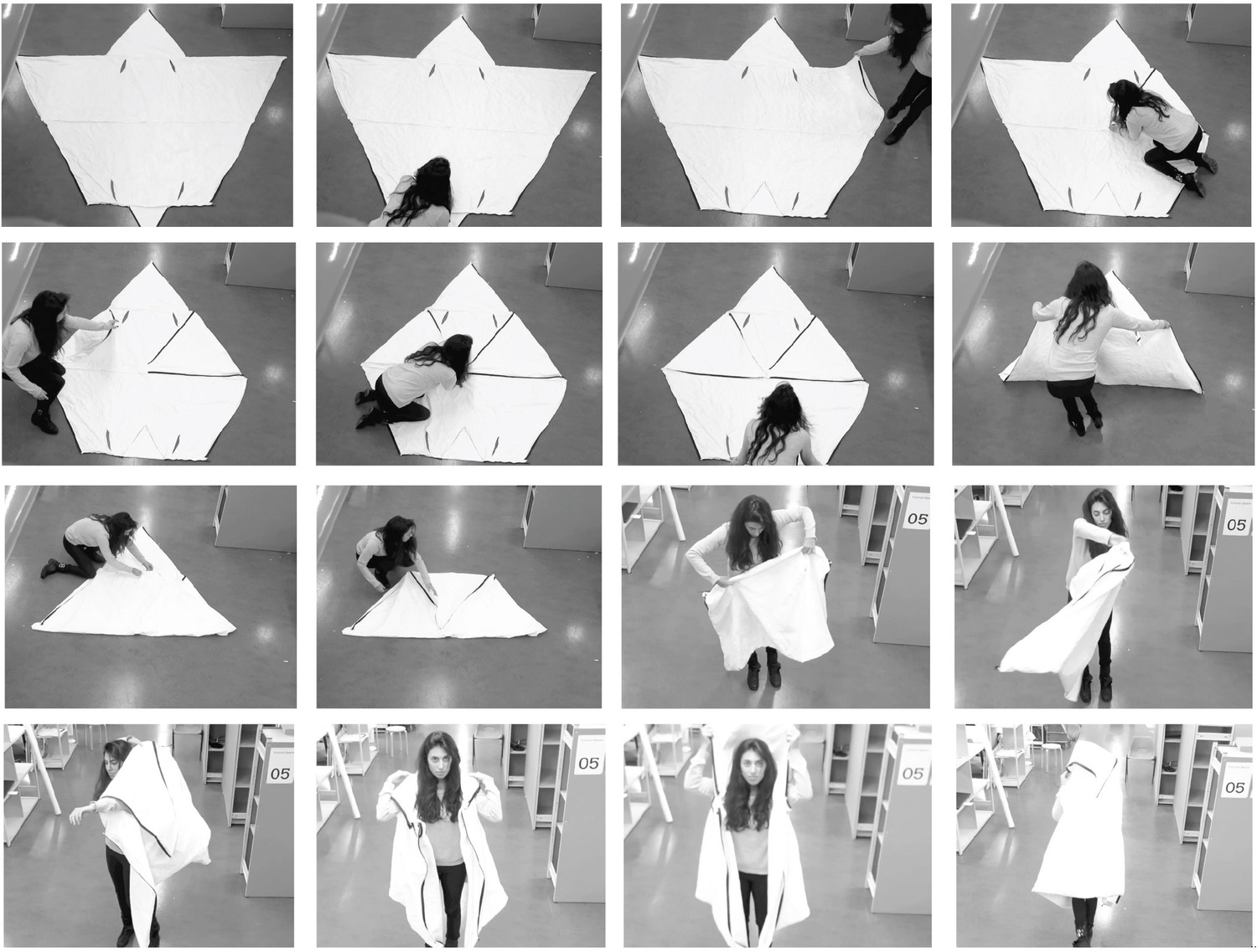 Wearable Tyvek Collage  sc 1 st  Material Concepts Blog & Wearable Shelter Made With Tyvek | Tyvek Innovative Uses ...