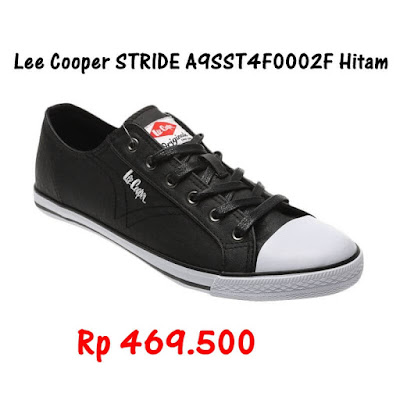 Lee Cooper Stride Hitam