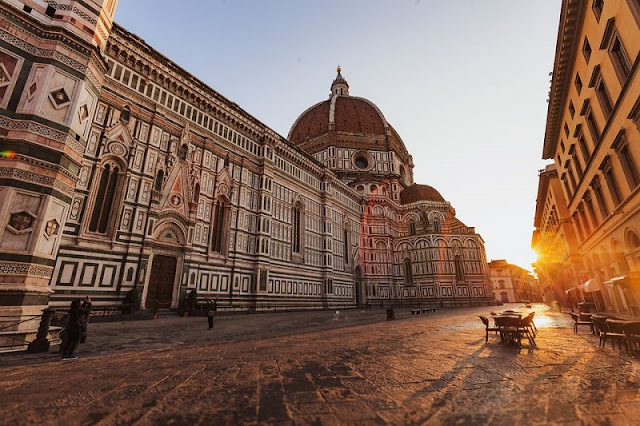 Duomo di Firenze em Florença na Itália