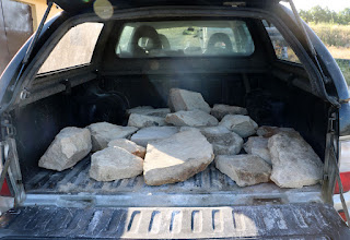 A load of stones for Chaz and Ivan
