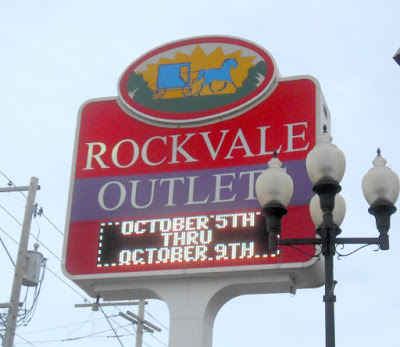 Rockvale Outlets in Lancaster Pennsylvania