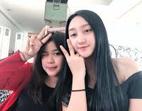 Foto Sandrina Azzahra dan Bianca jodi Indonesian Idol