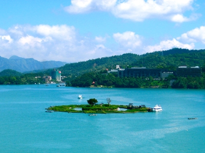 เกาะลาลู (Lalu) @ ทะเลสาบสุริยันจันทรา (Sun Moon Lake: 日月潭) @ www.jetsettimes.com