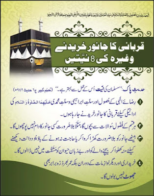Download: Qurbani ka Janwar Khareedny ki – 8 Niyaten pdf in Urdu