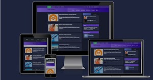 Free Responsive Blogger Template Redesign N Light