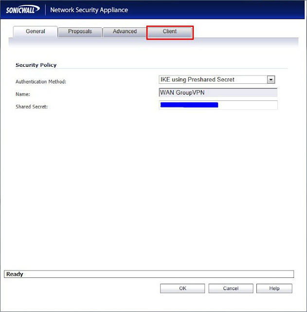 I T  Technical Stuff: Configuring Global VPN clients for Sonicwall