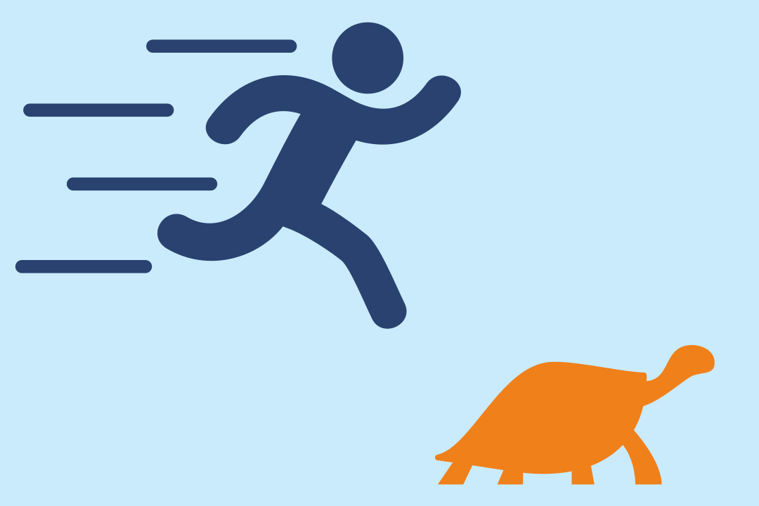 kura-kura lari dan Achilles