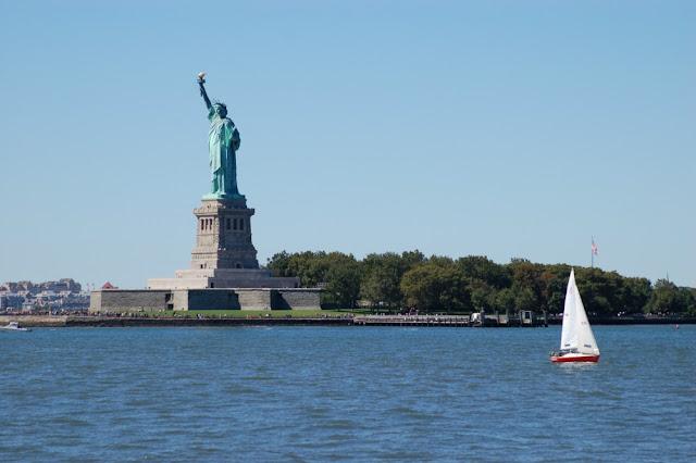 Vistas de la estatua de la Libertad (Foto cedida por: Cristina Monsalvo, www.krisporelmundo.com)
