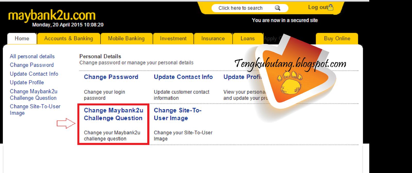 Maybank2u log in online